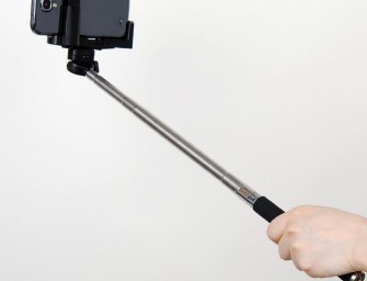 But First, Let Me Get My Extendable Arm For The Selfie
