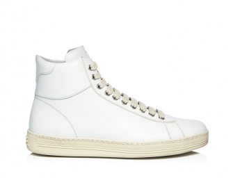 Tom Ford Launches Ultra-Luxe Velvet High Top Sneakers for Women